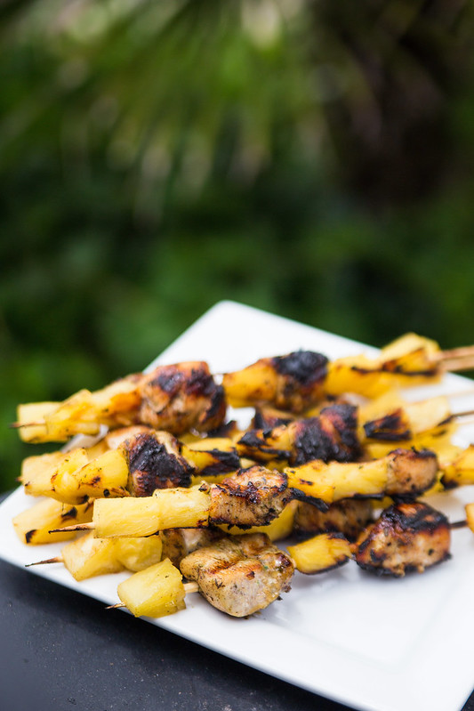Caribbean Chicken Skewers