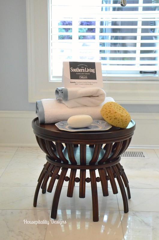 Master Bath Table-2015 Southern Living Idea House-Housepitality Designs