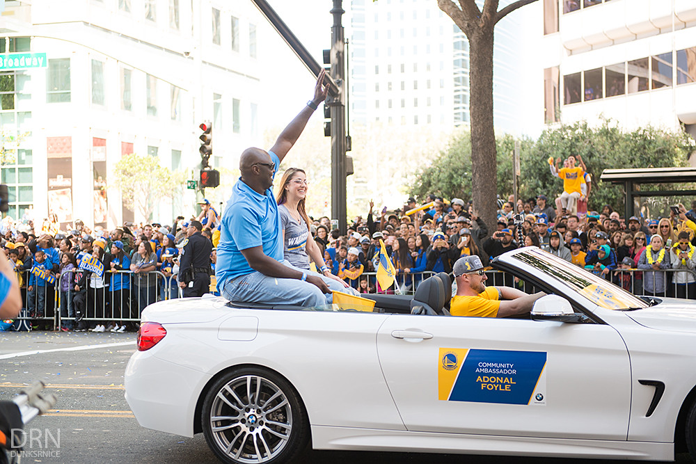 GS Warriors Victory Parade - 06.19.15