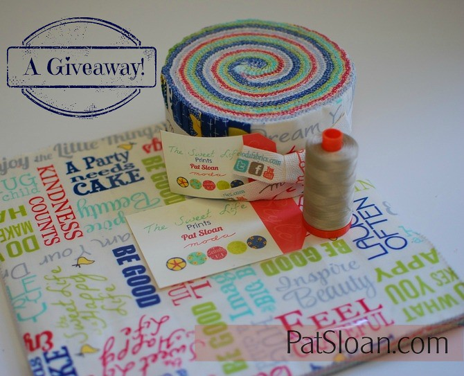 pat sloan sweet life giveaway