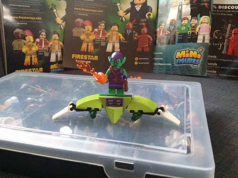 Lego Hobgoblin Marvel Lego Marvel Goblin Gliders