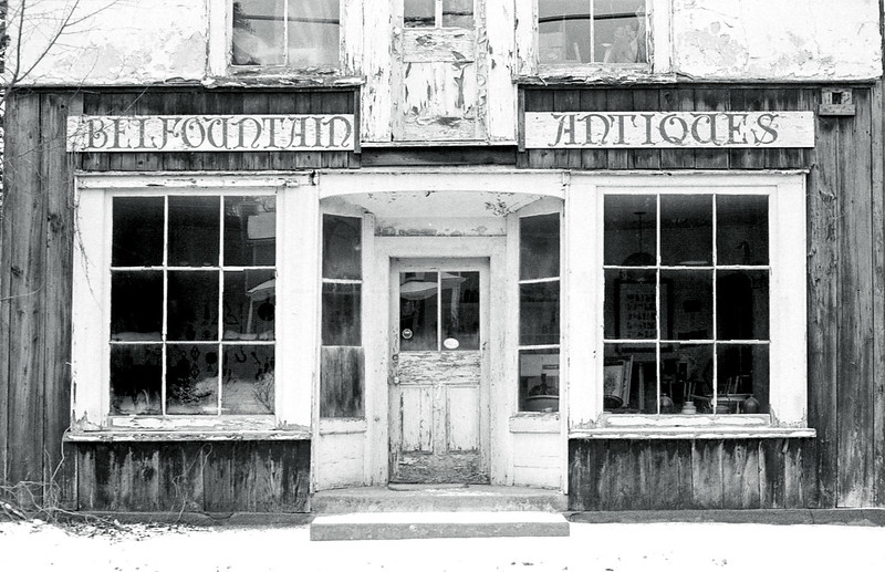 Closed Antique Store_