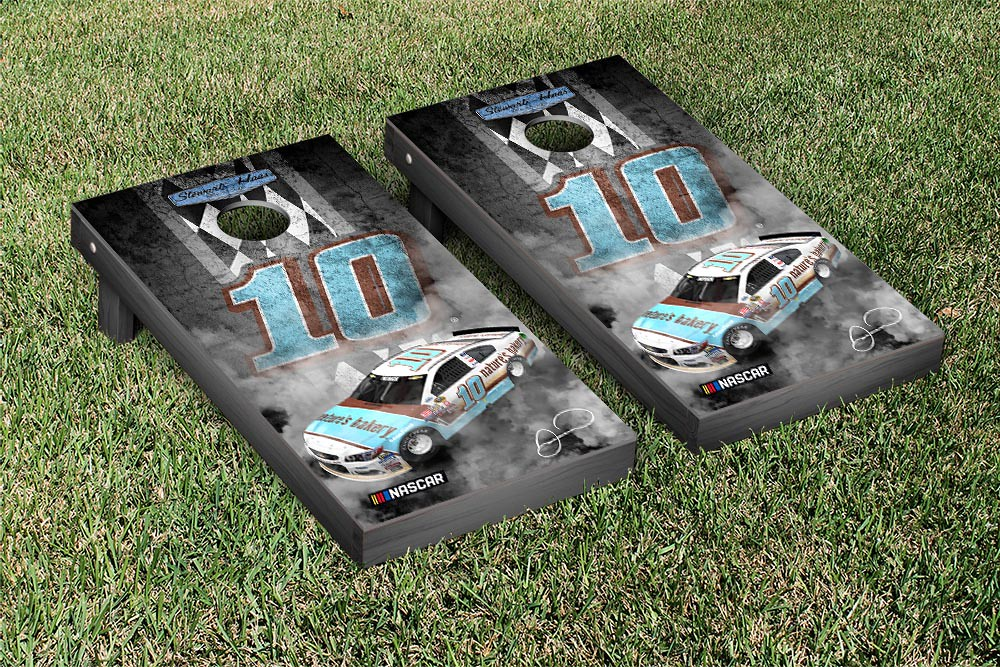 DANICA PATRICK #10 CORNHOLE GAME SET PITROW DARLINGTON VERSION