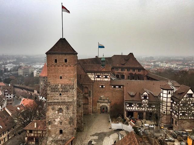 Castillo imperial de Núremberg (Baviera, Alemania)