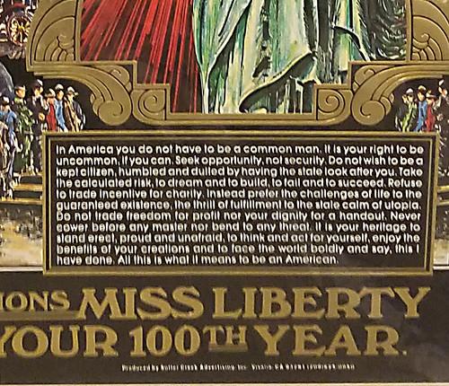 miss liberty small