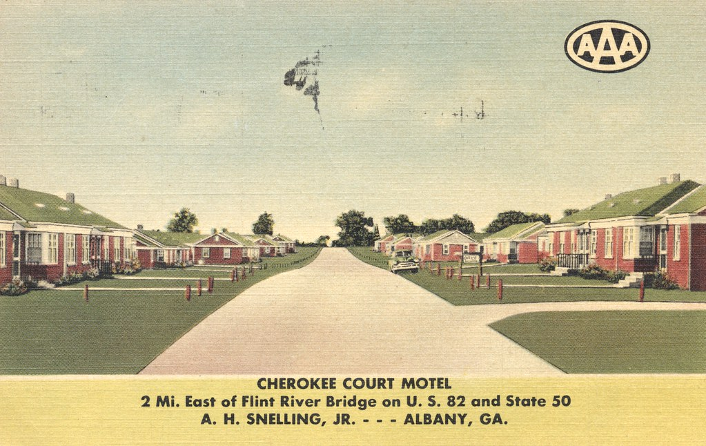 Cherokee Court Motel - Albany, Georgia
