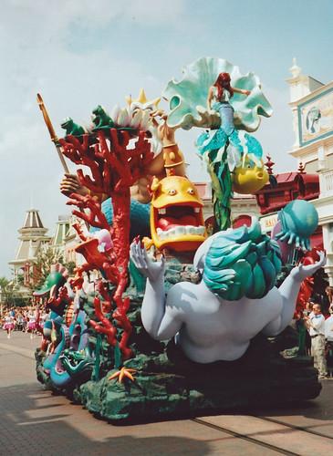 Little Mermaid float