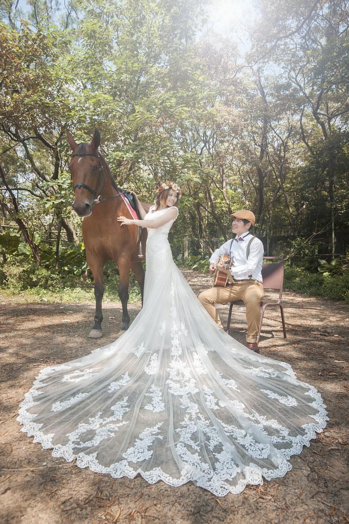六福村婚紗,動物婚紗,騎馬婚紗