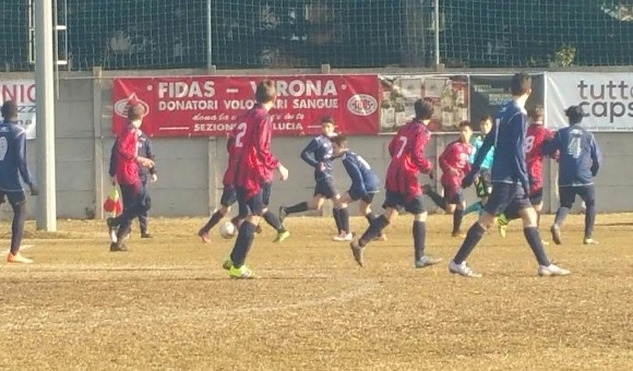 Giovanissimi Regionali Elite, Team S.Lucia-Virtus 2-1