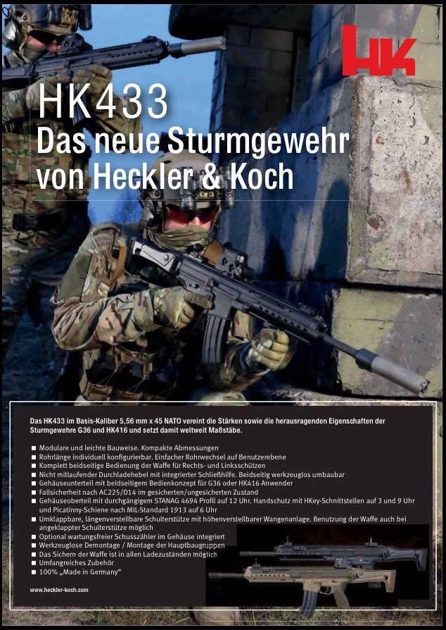 H&K HK433