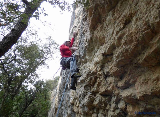 Juan Carlos Cervino - No Pica, 7a+ -04- La Moretona, Sector La Moretona (05-02-2017)