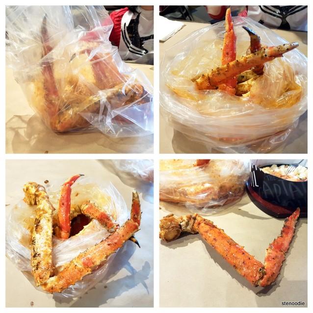 Captain's Boil King Crab Legs