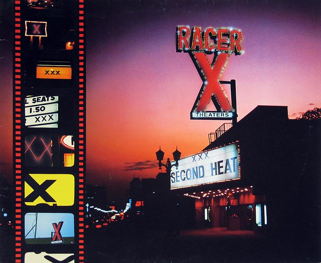 "RACER X SECOND HEAT 12"" Vinyl LP"