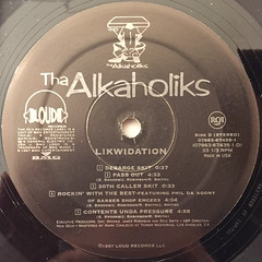 THA ALKAHOLIKS:LIKWIDATION(LABEL SIDE-D)