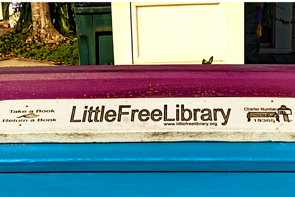 Little Free Library--New Orleans (detail)