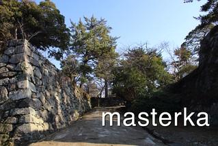 松阪城入ったところ