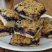 Mmm... blueberry cookie bars