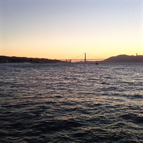 Golden Gate Bridge San Francisco California Sunset Picture: Sunset Over Golden Gate Bridge San Francisco