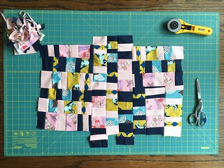 Score #2 Strings inspired by Sherri Lynn Wood's Improv Handbook for Quilters | by antstosugar