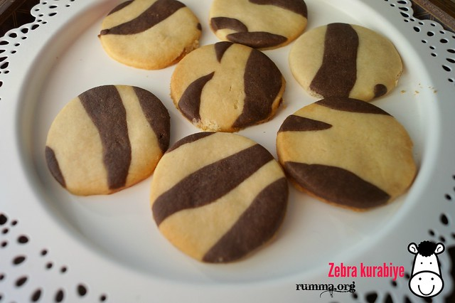 zebra kurabiye tarifi