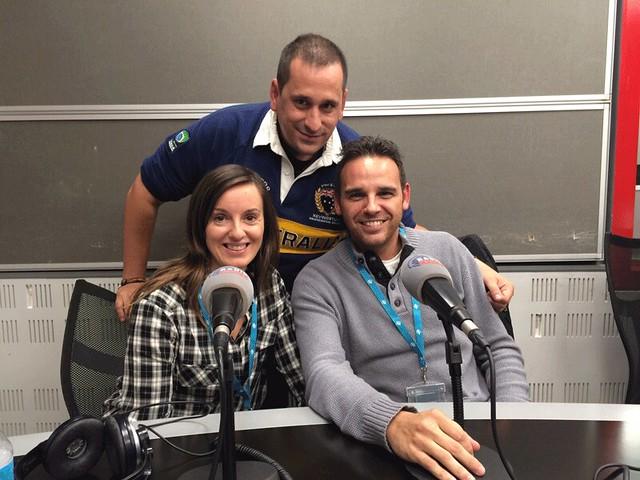 Sele, Isaac y Paula (Chavetas) en Paralelo 20 de Radio Marca