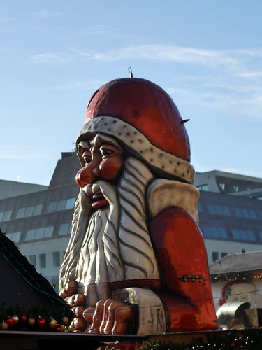 Giant Ugly Santa