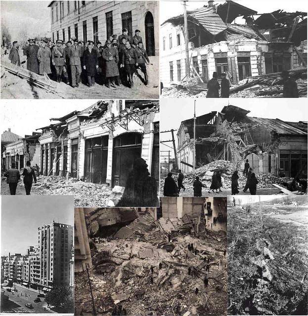Cateva fotografii ilustrand efectele cutremurului din 10 Noiembrie 1940. Pentru arhiva completa, dati click aici.