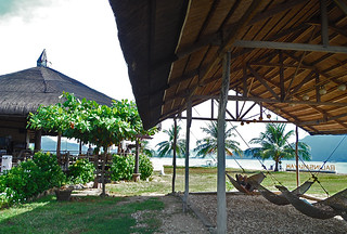 Coron - Balinsasayaw Hotel hammock