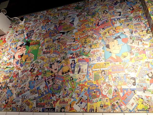 Hidden Burger mural