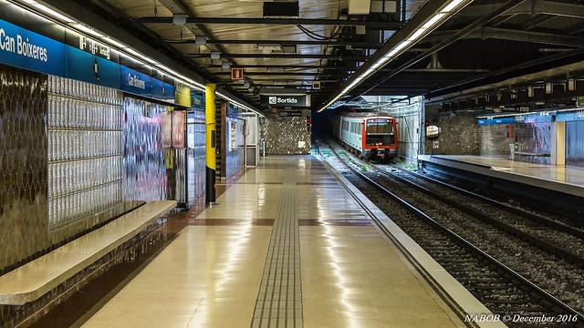 Can Boixeres metro station, Línia 5