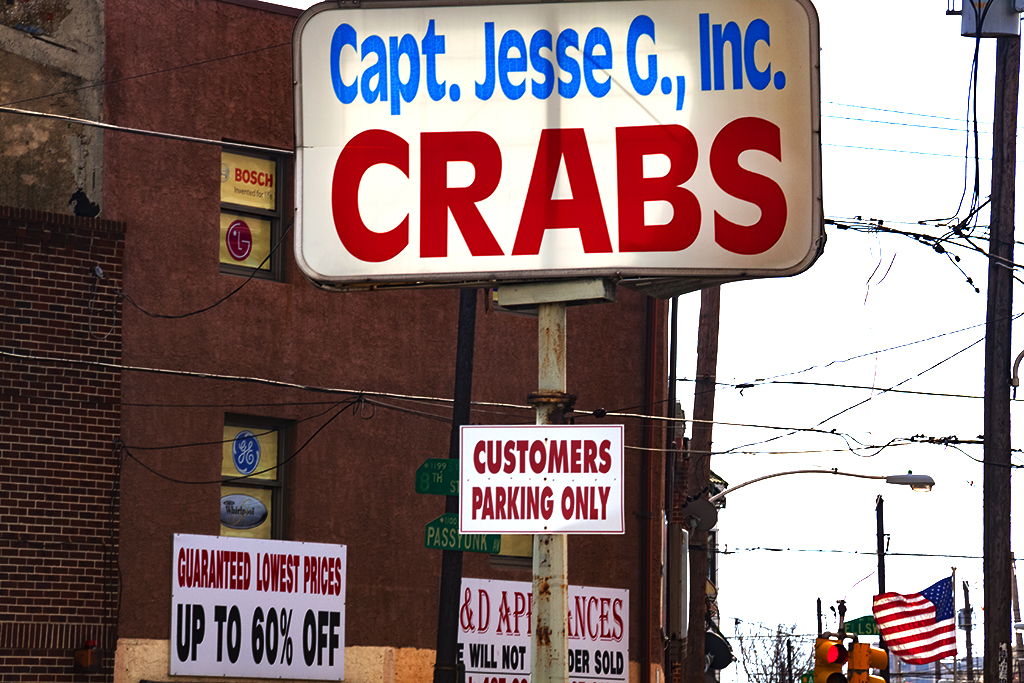 Capt Jesse CRABS--Italian Market