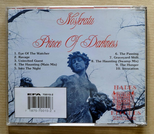 NOSFERATU PRINCE OF DARKNESS (CD)