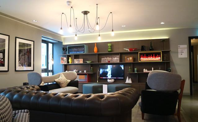 Mercure London Hotel Lounge