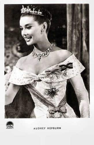 Audrey Hepburn in Roman Holiday (1952)