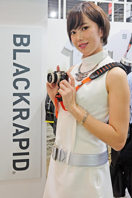 Blackrapid girl
