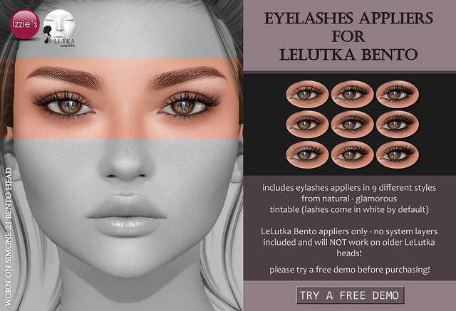 LeLutka Bento Eyelashes