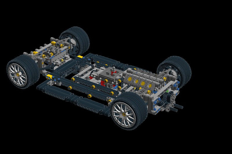 Wipmoc Technic Car Inspired By The Lexus Gsf Lego Technic And