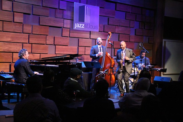 Branford Marsalis Quartet with Kurt Elling at Jazz at the Bistro, January 25, 2017