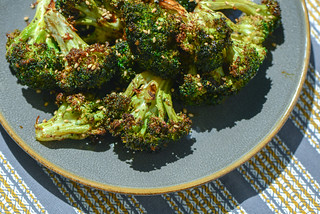 Broccoli with Hoisin-Ginger Glaze