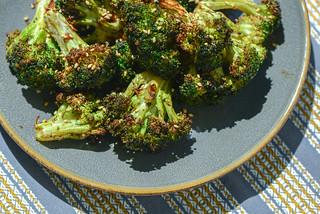 Broccoli with Hoisin-Ginger Glaze
