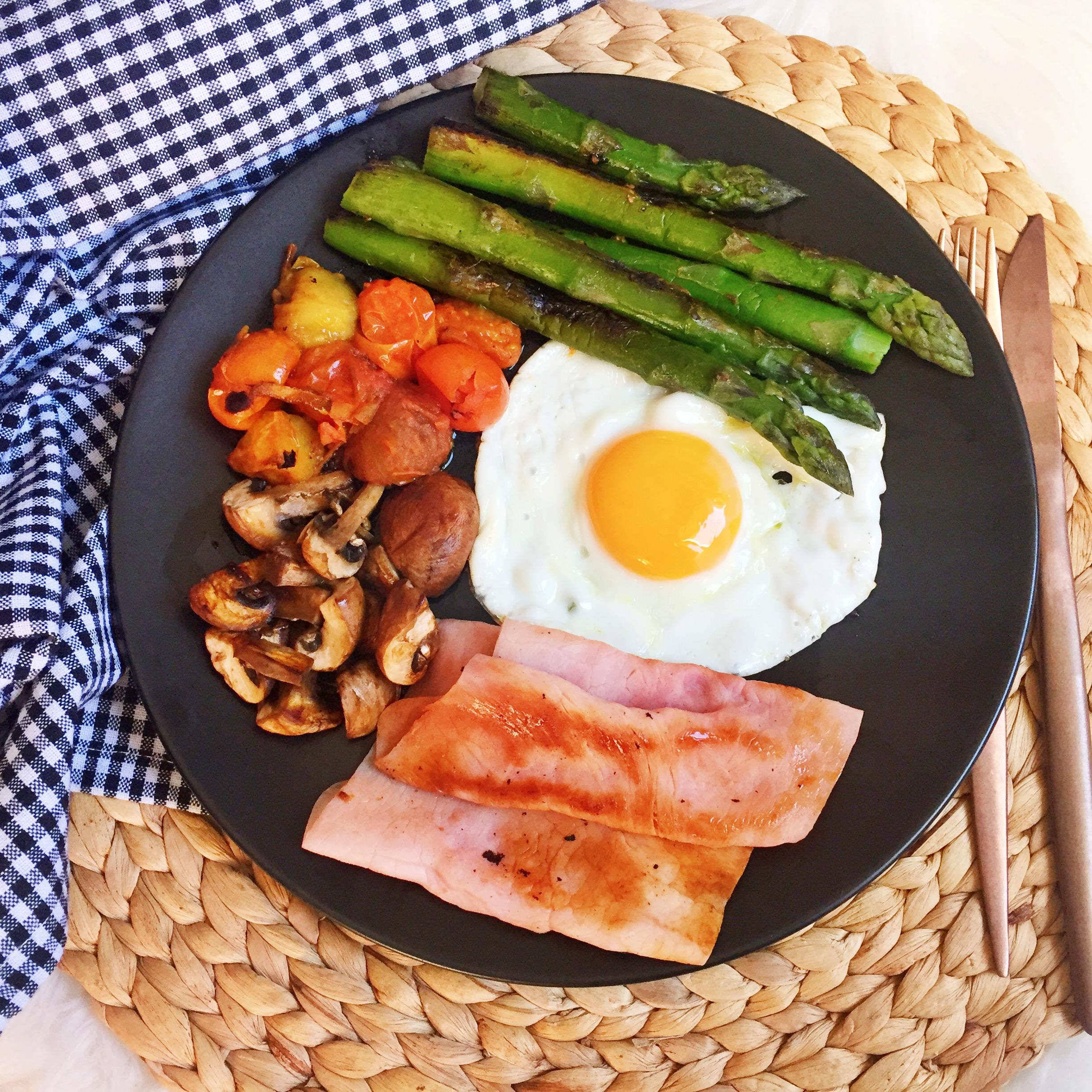Desayunos con huevos