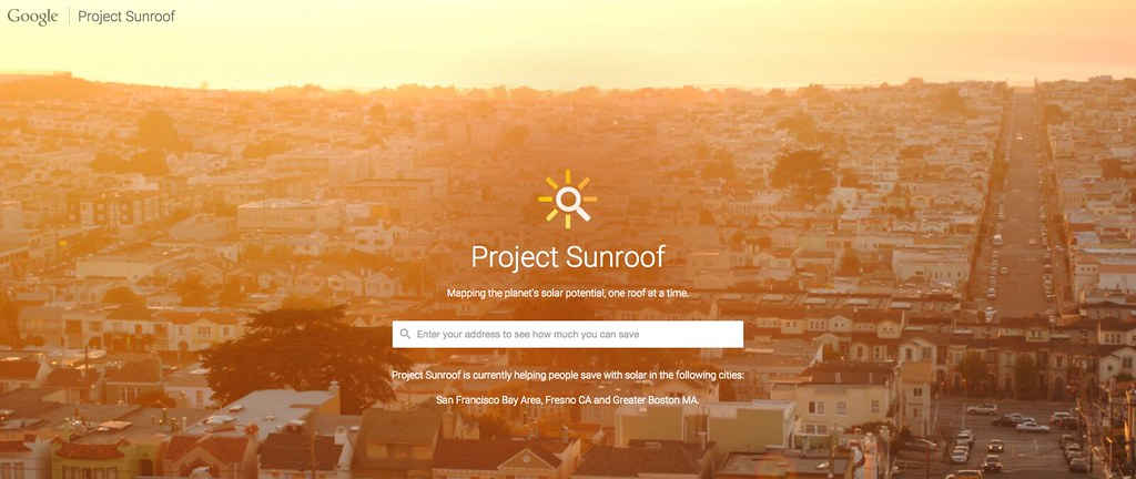 Google, Project Sunroof