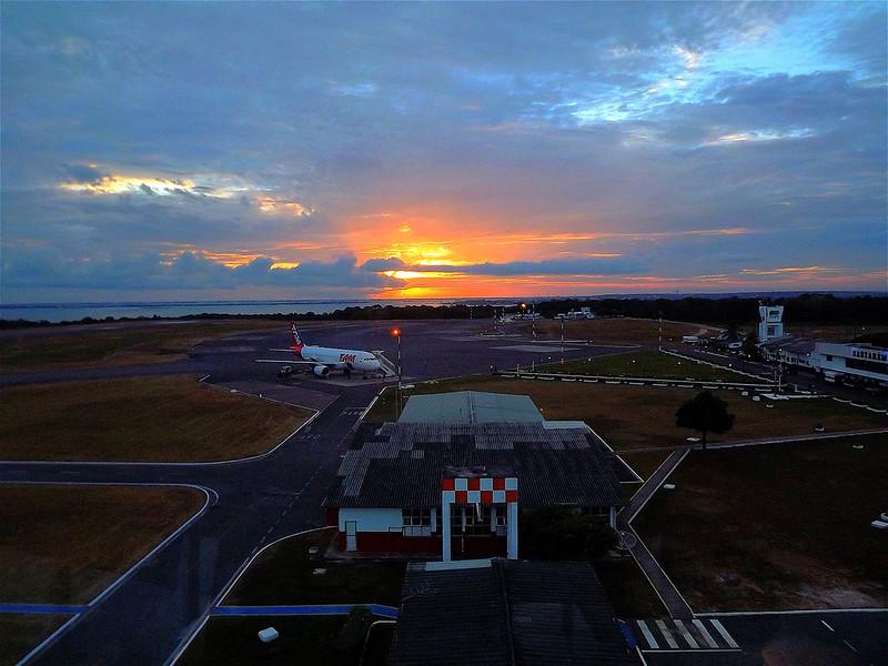 Aeroporto de Santarém. Foto: Mauro Queiroz