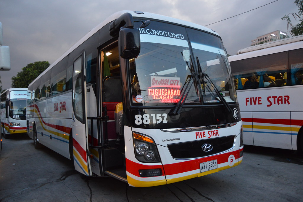 Pangasinan Five Star Bus 88152 By Dli 7227787 Operated By Boy Dalin Liner