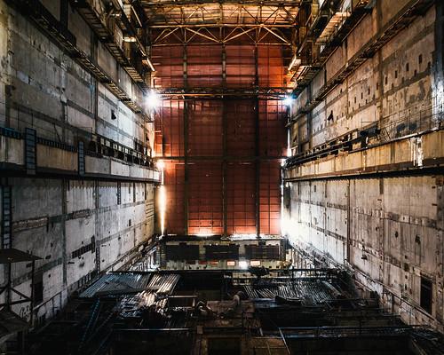 Chernobyl Unit 5 Amp 6 Reactor Hall Chernobyl Units 5 And
