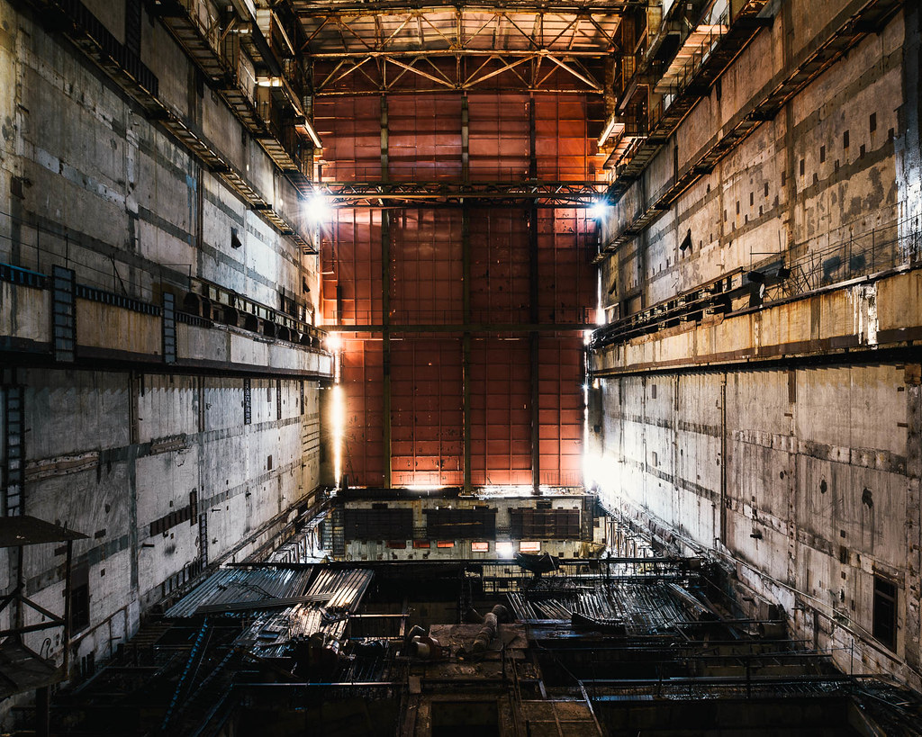 Chernobyl Unit 5 Amp 6 Reactor Hall Chernobyl Units 5 And
