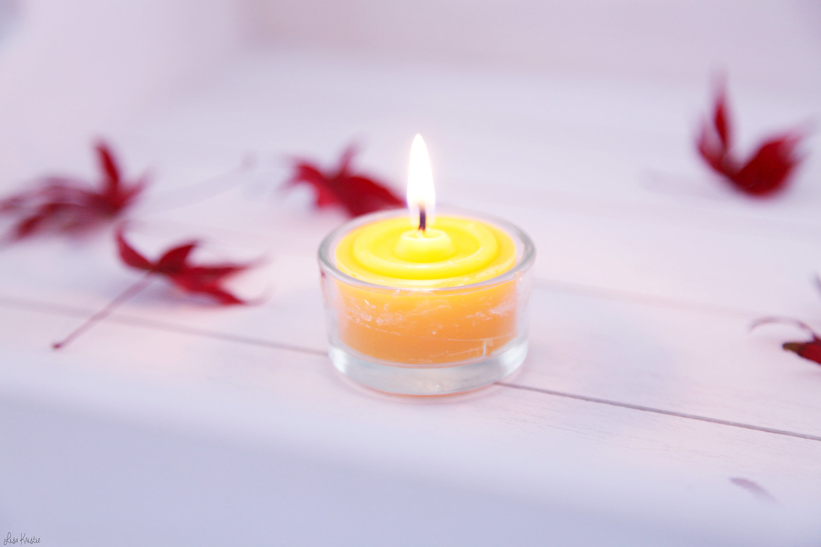closeup lit flame beeswax natural candles tealights made in europe germany european german company licht blick review customer product purchase home interior kerzen-lichtblick.de naturlich hell