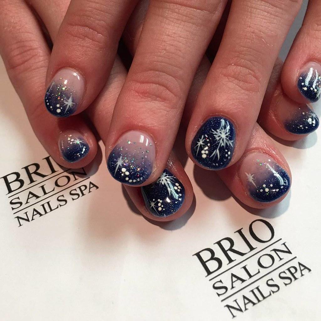 Holiday\'s nails Art @briospa #nails #naildesigns #nailart … | Flickr