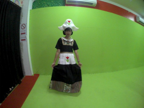 Pemotretan di De Mata Tricked Eye Yogyakarta