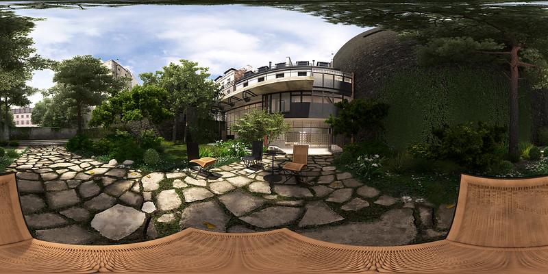 Maison De Verre Garden